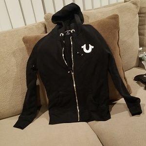 Like new true religion zip up hoodie
